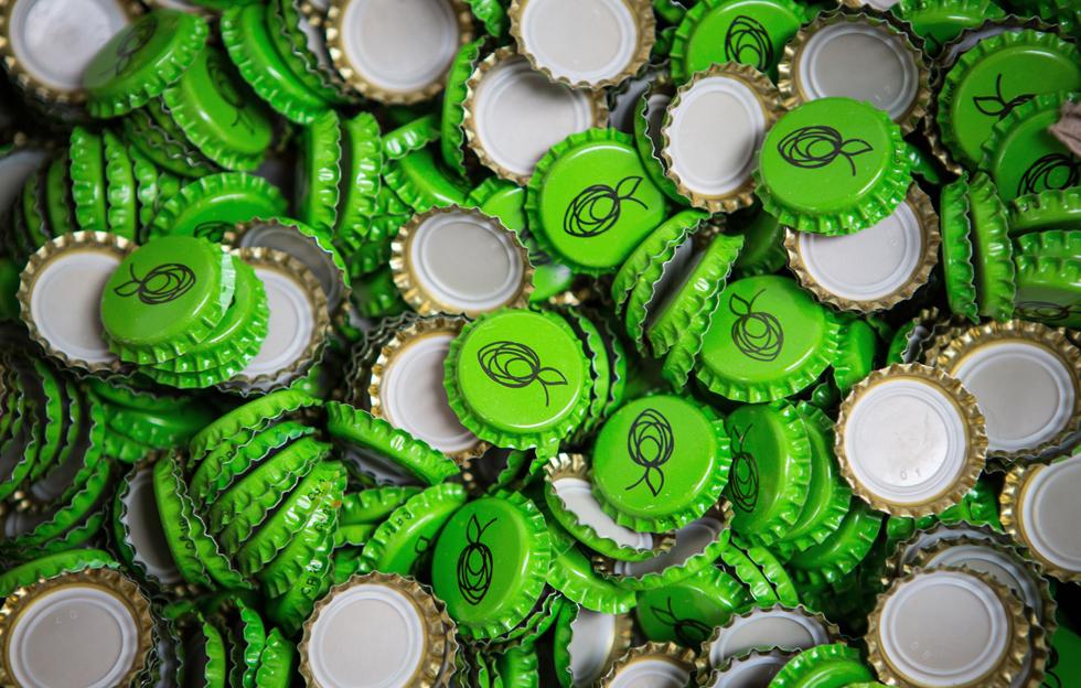The Hop Studio: Bottle Caps by Intravenous