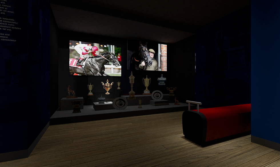 National Horseracing Museum: CGI by Intravenous