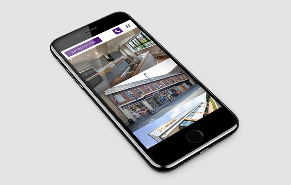 Northminster Properties: Website by Intravenous