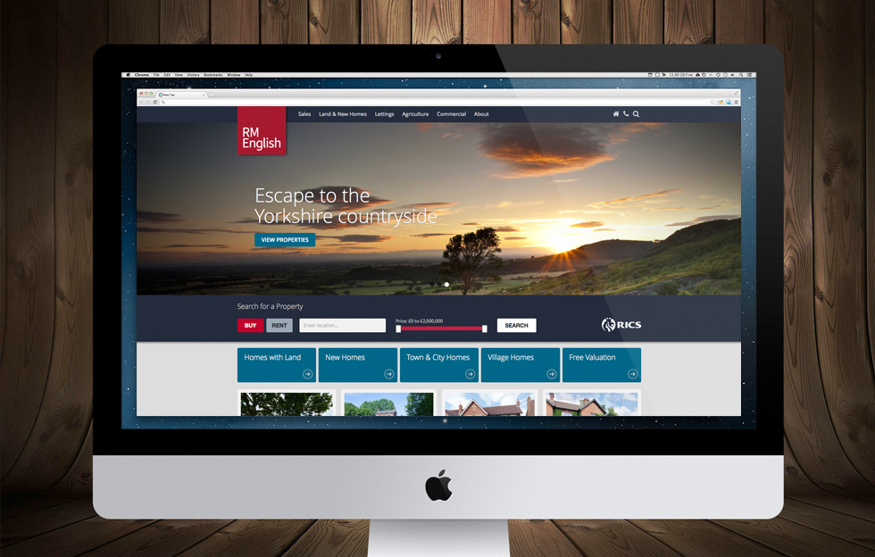 R M English: Website by Intravenous