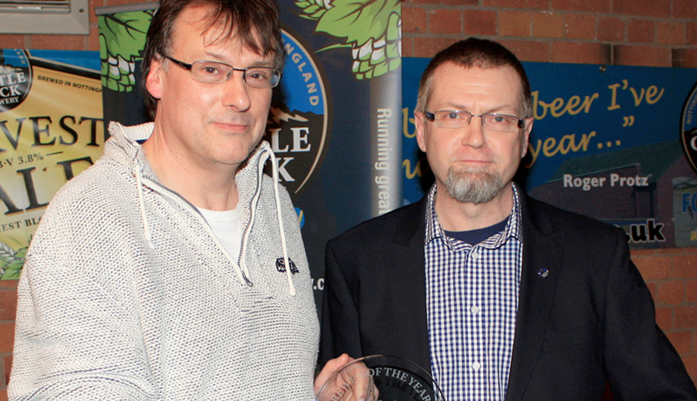 The Hop Studio: Castle Rock's 'New Brewer of the Year' 2012/13