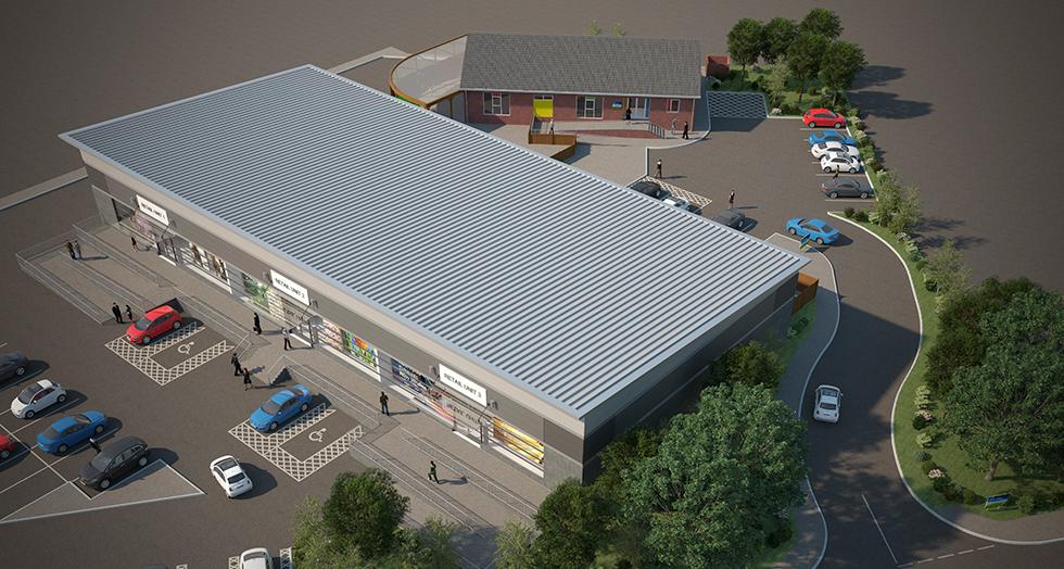 Norton Retail Park: CGI by Intravenous