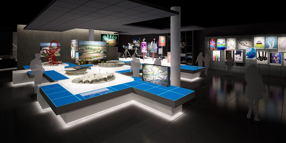 Visualising The Olympic Museum, Lausanne