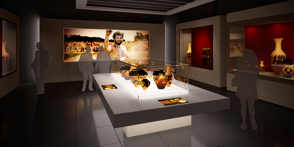 The Olympic Museum: CGI by Intravenous