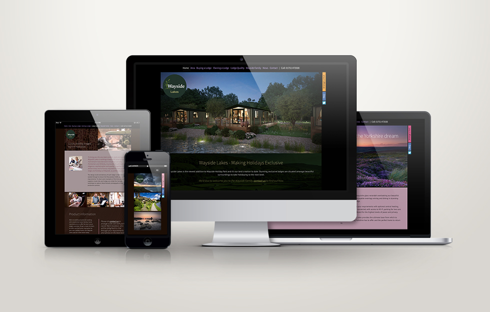 Wayside Lakes: Website by Intravenous
