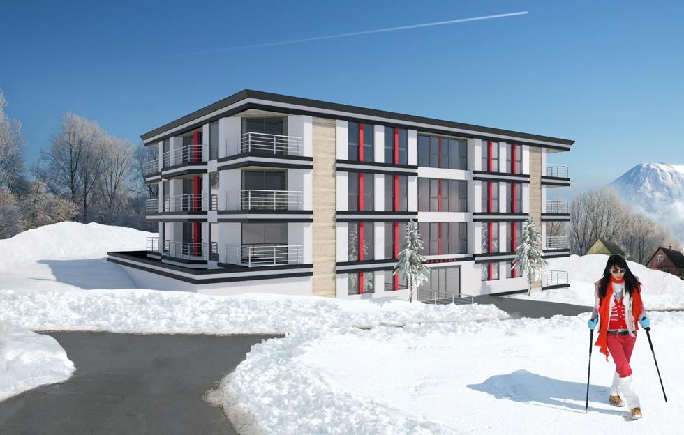 Akazora Apartments: CGI by Intravenous