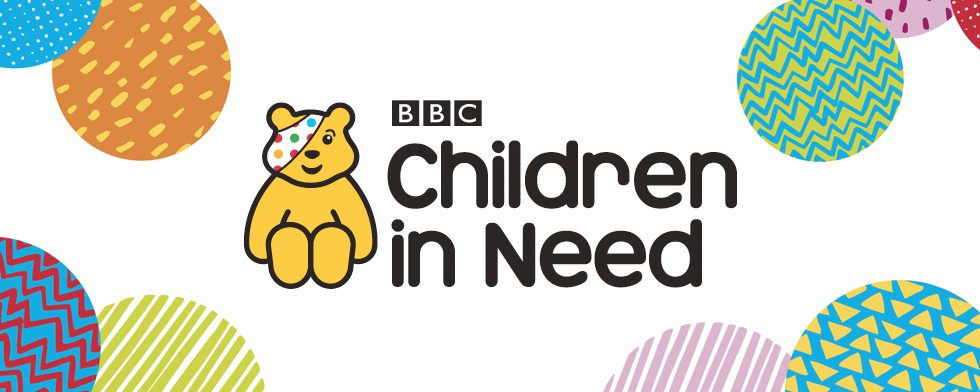 Intravenous get spotty for Children in Need!