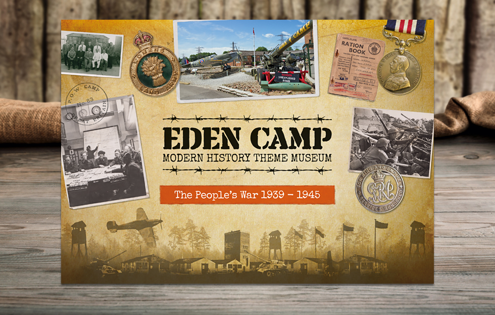 Eden Camp: Book Cover by Intravenous