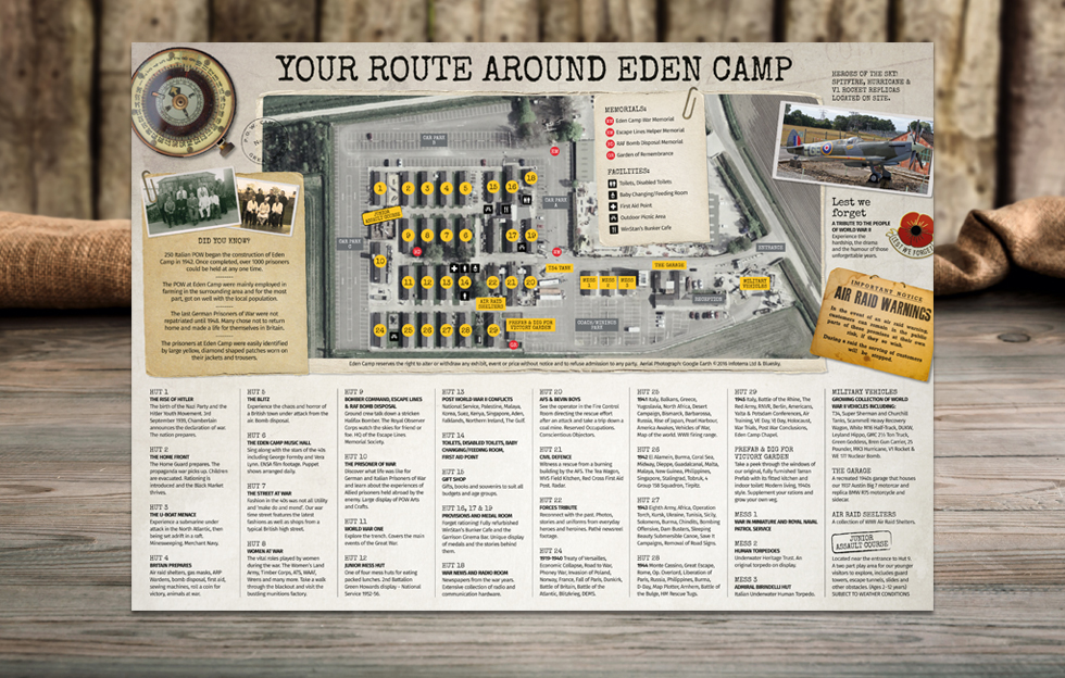 Eden Camp: Brochure by Intravenous
