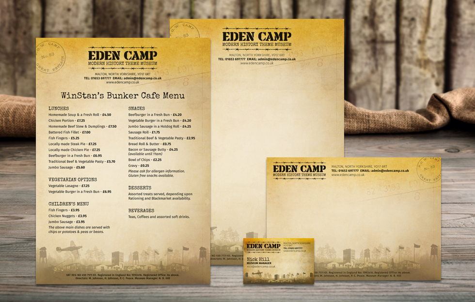 Eden Camp: Stationery by Intravenous