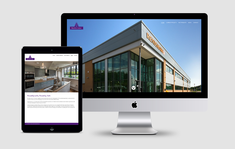 Northminster Properties: Website by Intravenous