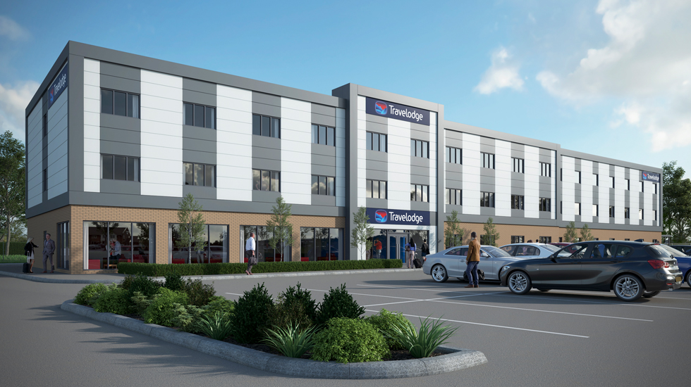 Travelodge, Monks Cross: CGI by Intravenous